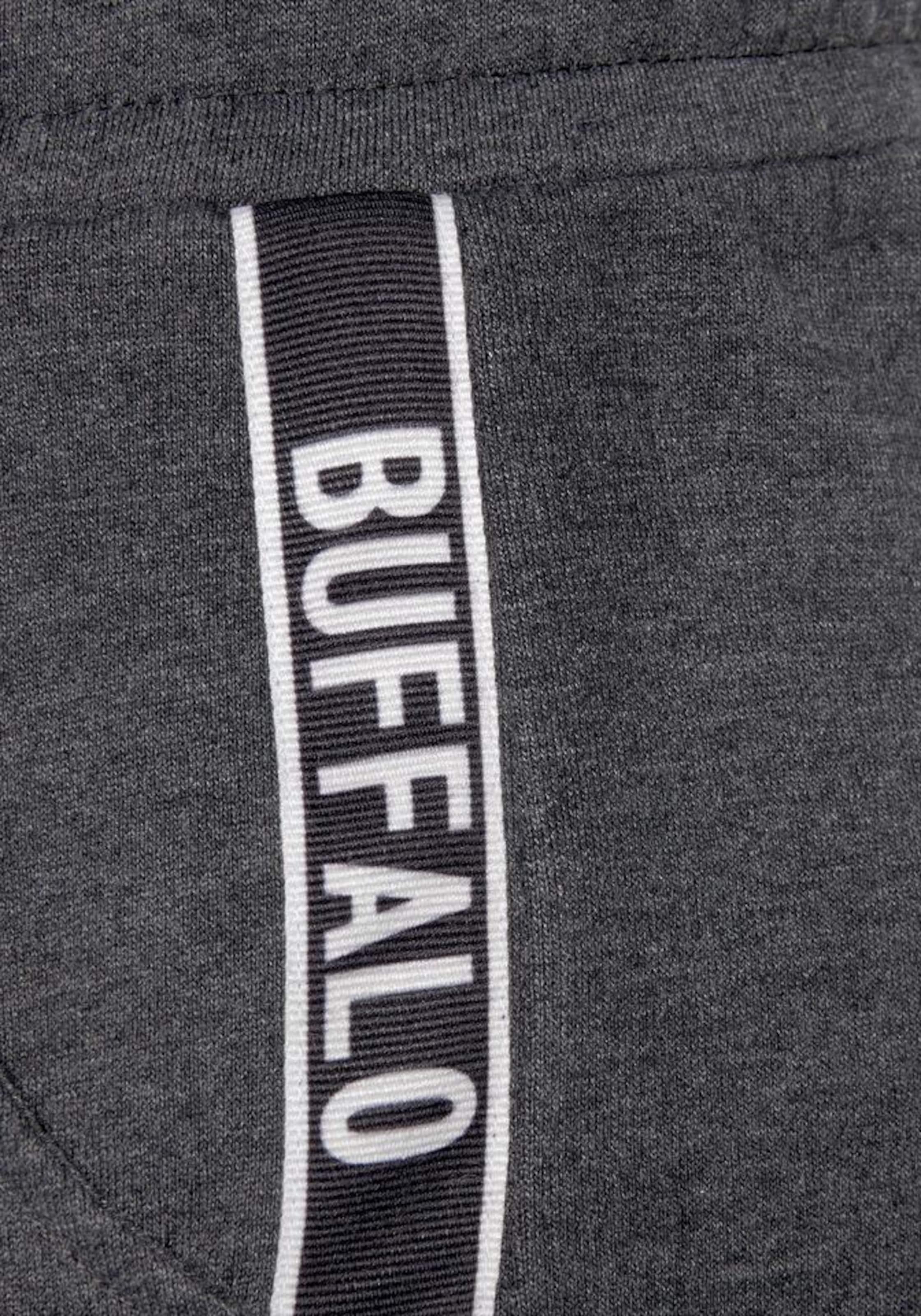 Sweatshorts In Buffalo SchwarzmeliertWeiß Sweatshorts Buffalo SchwarzmeliertWeiß Buffalo In 0m8vOwyNn