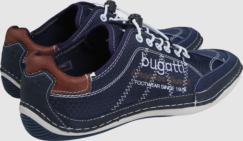 bugatti Schuh mit Stitchings