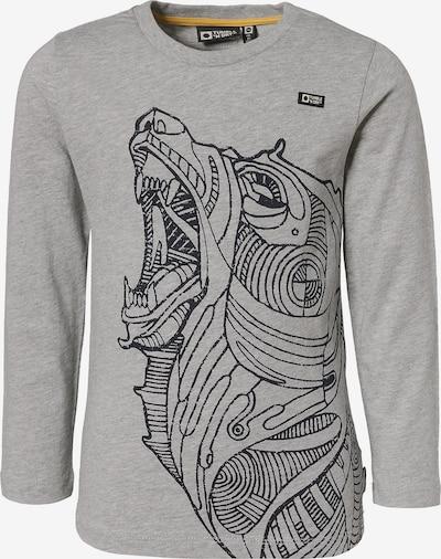 TUMBLE N' DRY Langarmshirt in grau / schwarz, Produktansicht