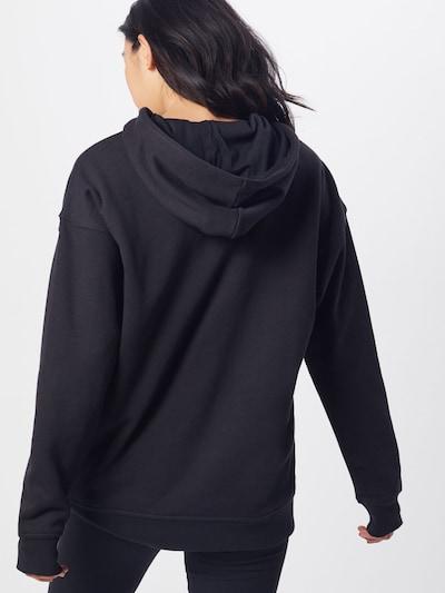 ADIDAS ORIGINALS Sweatshirt in de kleur Zwart / Wit: Achteraanzicht