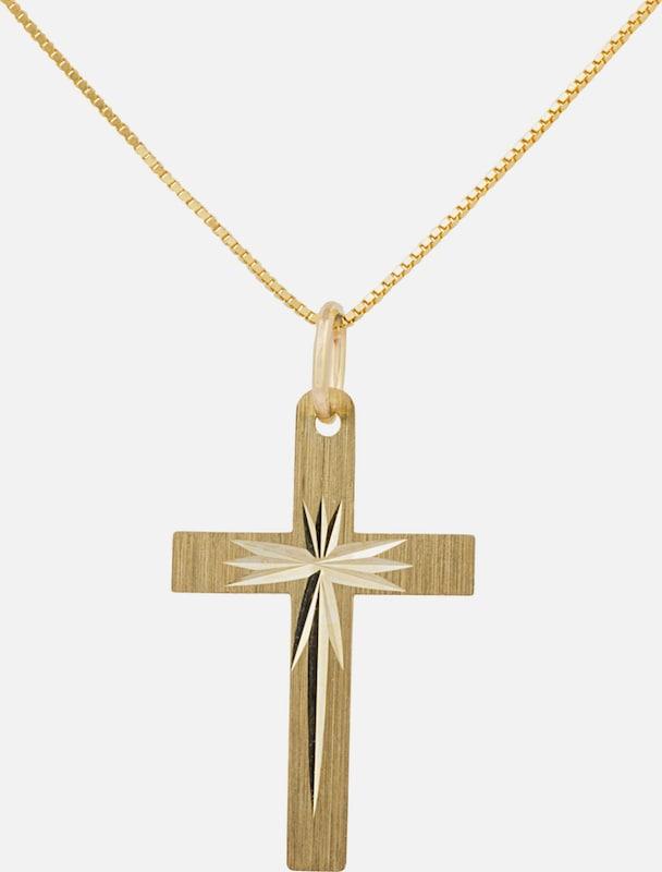 FIRETTI Kette mit Anhänger, »Kreuz«