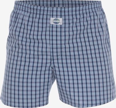 D.E.A.L International Boxershorts 'Check' in de kleur Lichtblauw / Donkerblauw, Productweergave