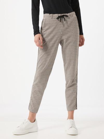 Pantaloni eleganți TOM TAILOR pe marine / maro / alb, Vizualizare model