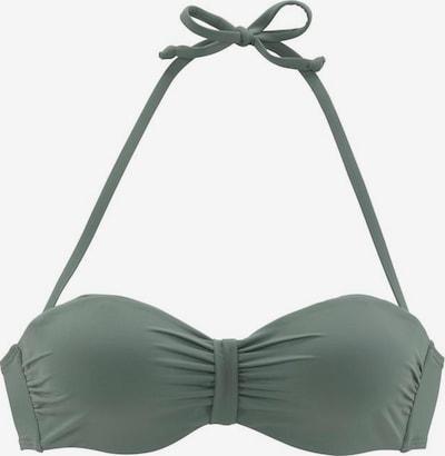 BENCH Hauts de bikini 'Perfect' en olive, Vue avec produit