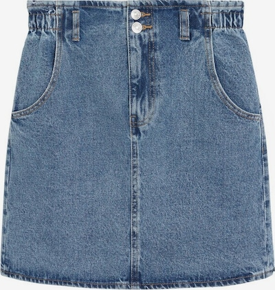 MANGO Rock 'Paperbag' in blue denim, Produktansicht