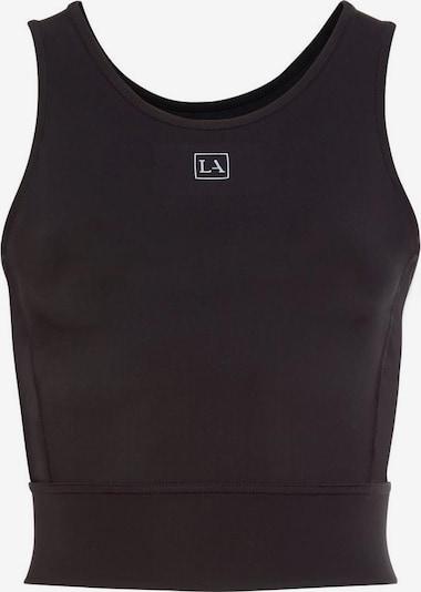 LASCANA ACTIVE Crop-Top 'Digital Mauve' in schwarz, Produktansicht