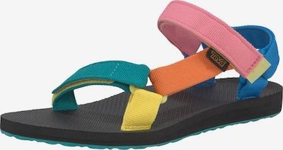 TEVA Sandale in blau / orange / pink, Produktansicht