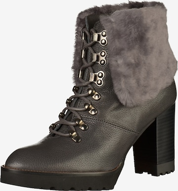GADEA Lace-Up Ankle Boots in Grey