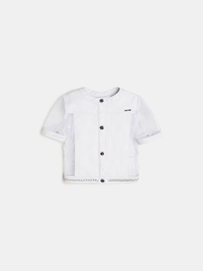 GUESS KIDS Jacke in weiß, Produktansicht
