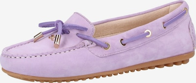 SCAPA Mocassins in de kleur Lichtlila, Productweergave