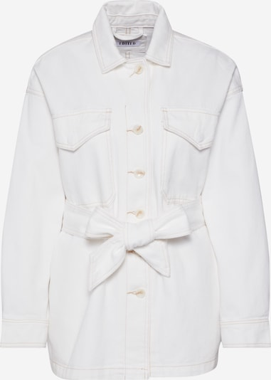 EDITED Prijelazna jakna 'Rae' u bijela / prljavo bijela, Pregled proizvoda