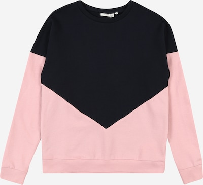 NAME IT Sweatshirt in rosa / schwarz, Produktansicht