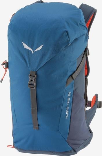 SALEWA Rucksack 'Albris 26' in blau / marine / orangerot, Produktansicht