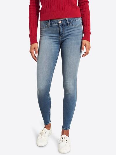 HOLLISTER Jeans 'MEDIUM ADV STR LR JL 123488 F' in blue denim, Modelansicht