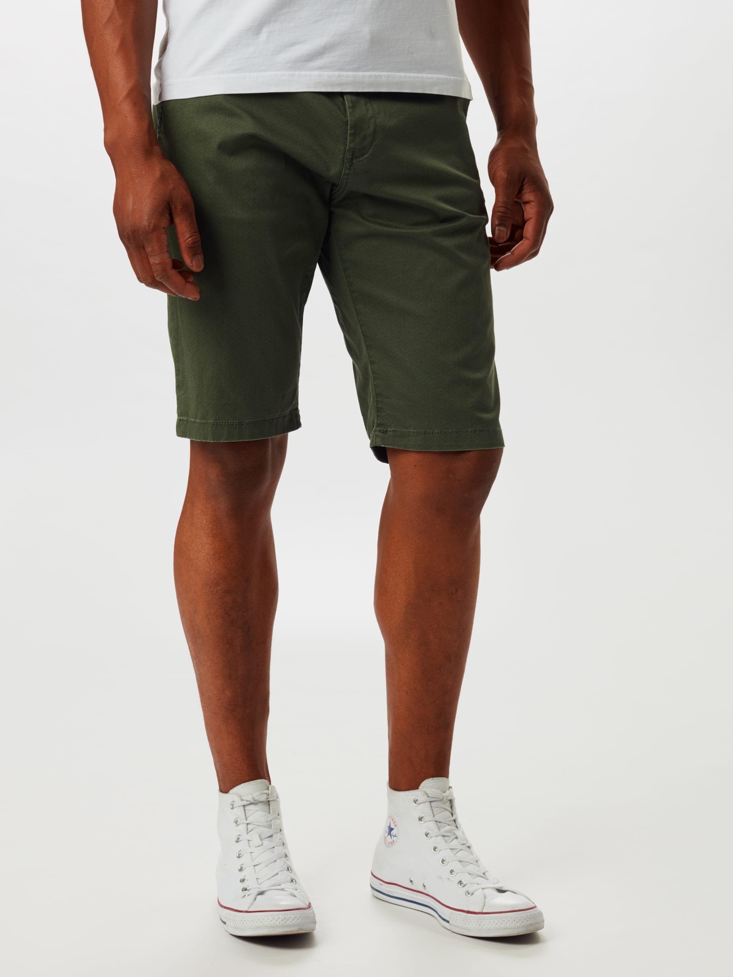 TOM TAILOR Shorts in khaki Baumwolle 1016323093