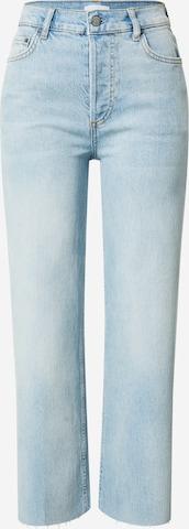 Boyish Jeans 'Mikey Crop Flare' in Blau