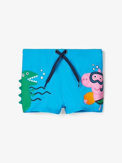 NAME IT Badehose ' Peppa Pig ' in hellblau, Produktansicht