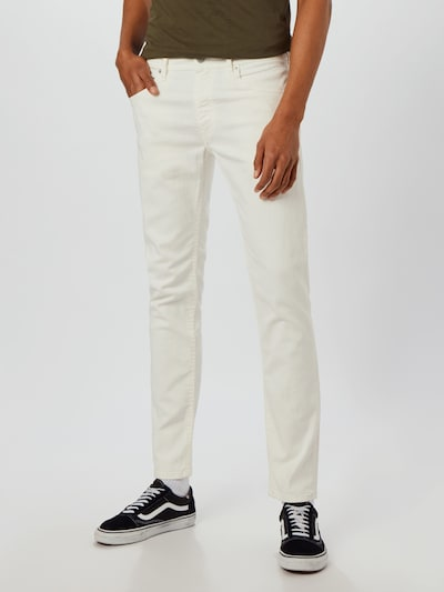 DIESEL Jeans 'THOMMER-X' in white denim, Modelansicht