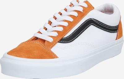 VANS Baskets basses 'UA Style 36' en orange / blanc, Vue avec produit
