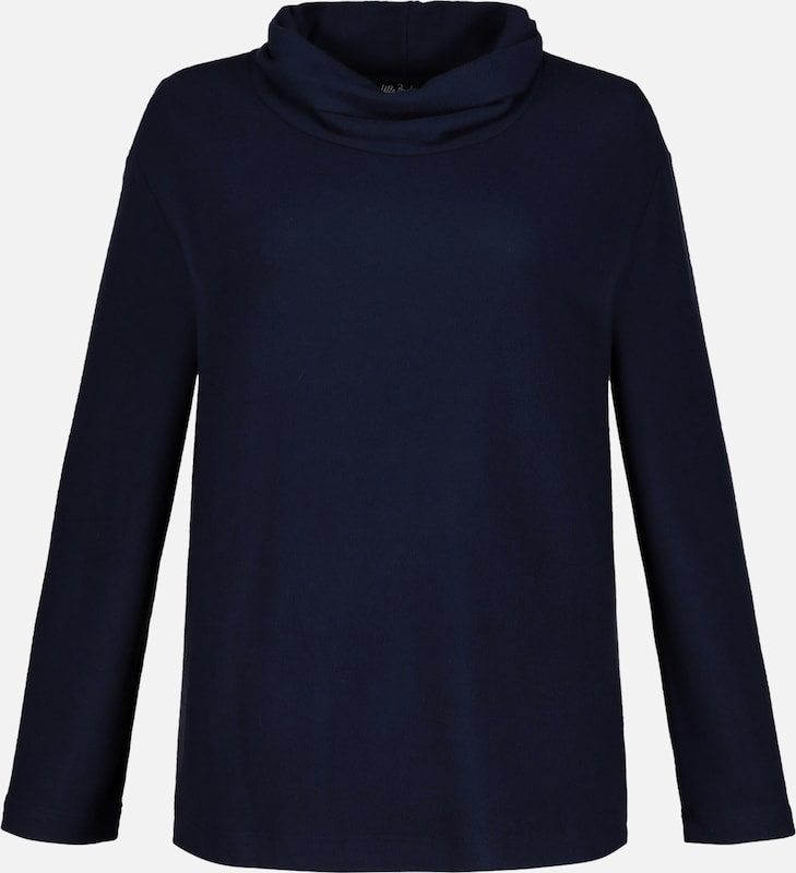 shirt En Ulla Sweat Foncé Bleu Popken ZiwXTlOPku