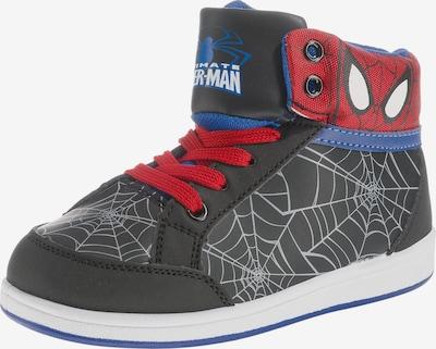 SPIDERMAN Sneakers in blau / rot / schwarz, Produktansicht