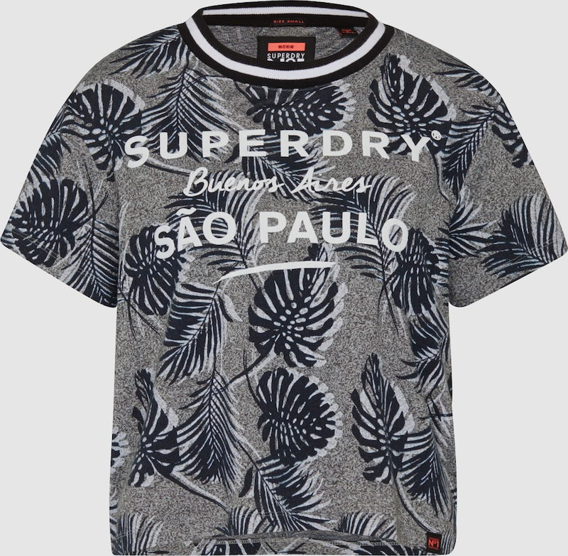 Superdry T-Shirt mit Print 'AMAZON BOXY'