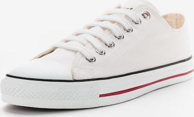 Ethletic Sneaker in sportlichem Design in rot / schwarz / weiß, Produktansicht