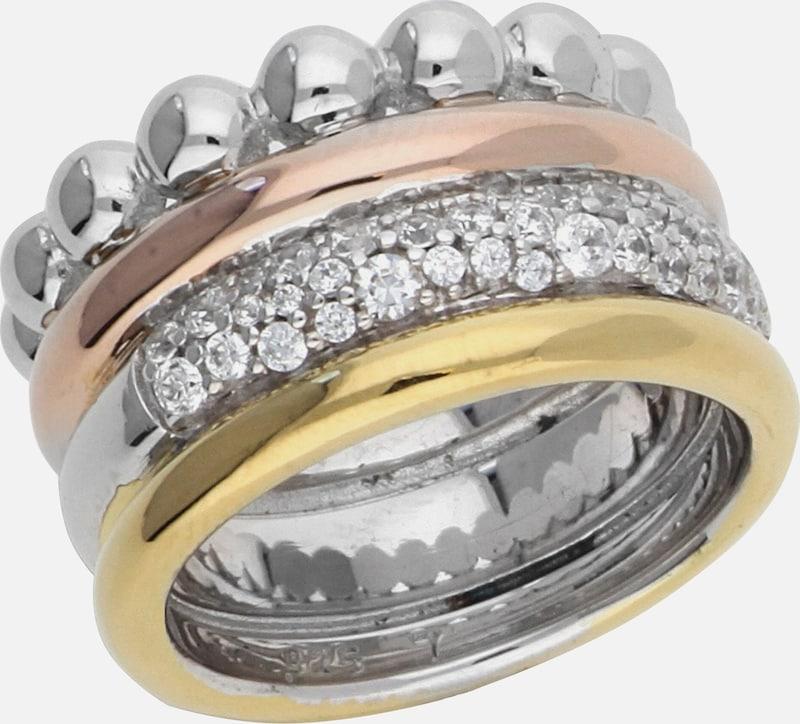 ESPRIT Fingerring Philaios Multi mit Zirkonia-Steinbesatz ELRG92404B