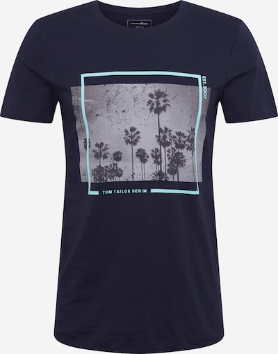 TOM TAILOR DENIM Tričko - tmavě modrá, Produkt