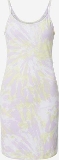 ADIDAS ORIGINALS Kleid in pastellgelb / pastelllila / offwhite, Produktansicht