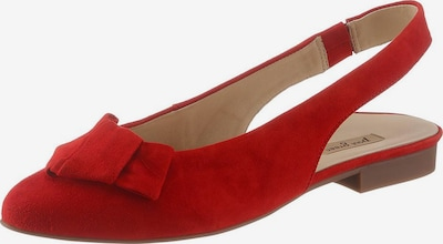Paul Green Slingpumps in rot, Produktansicht