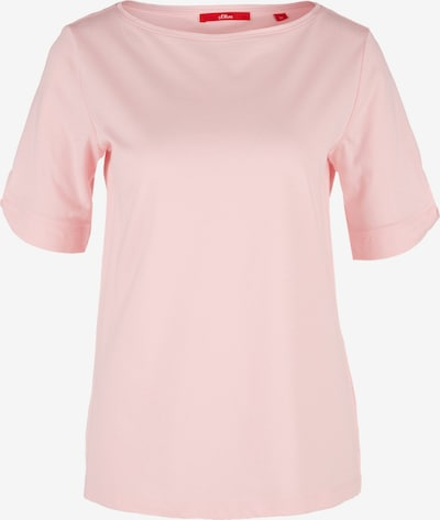 s.Oliver Shirt in rosa: Frontalansicht