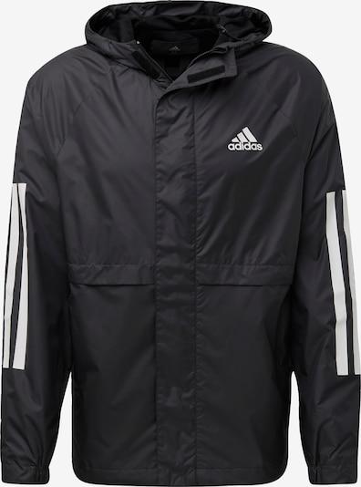 Jachetă de trening ADIDAS PERFORMANCE pe negru / alb, Vizualizare produs