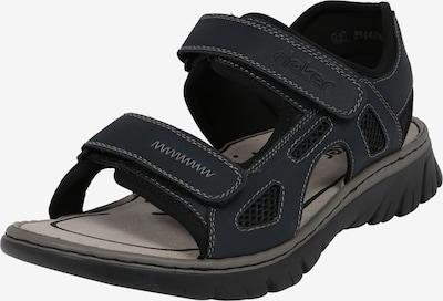 Sandale trekking '26761-14' RIEKER pe navy / negru, Vizualizare produs