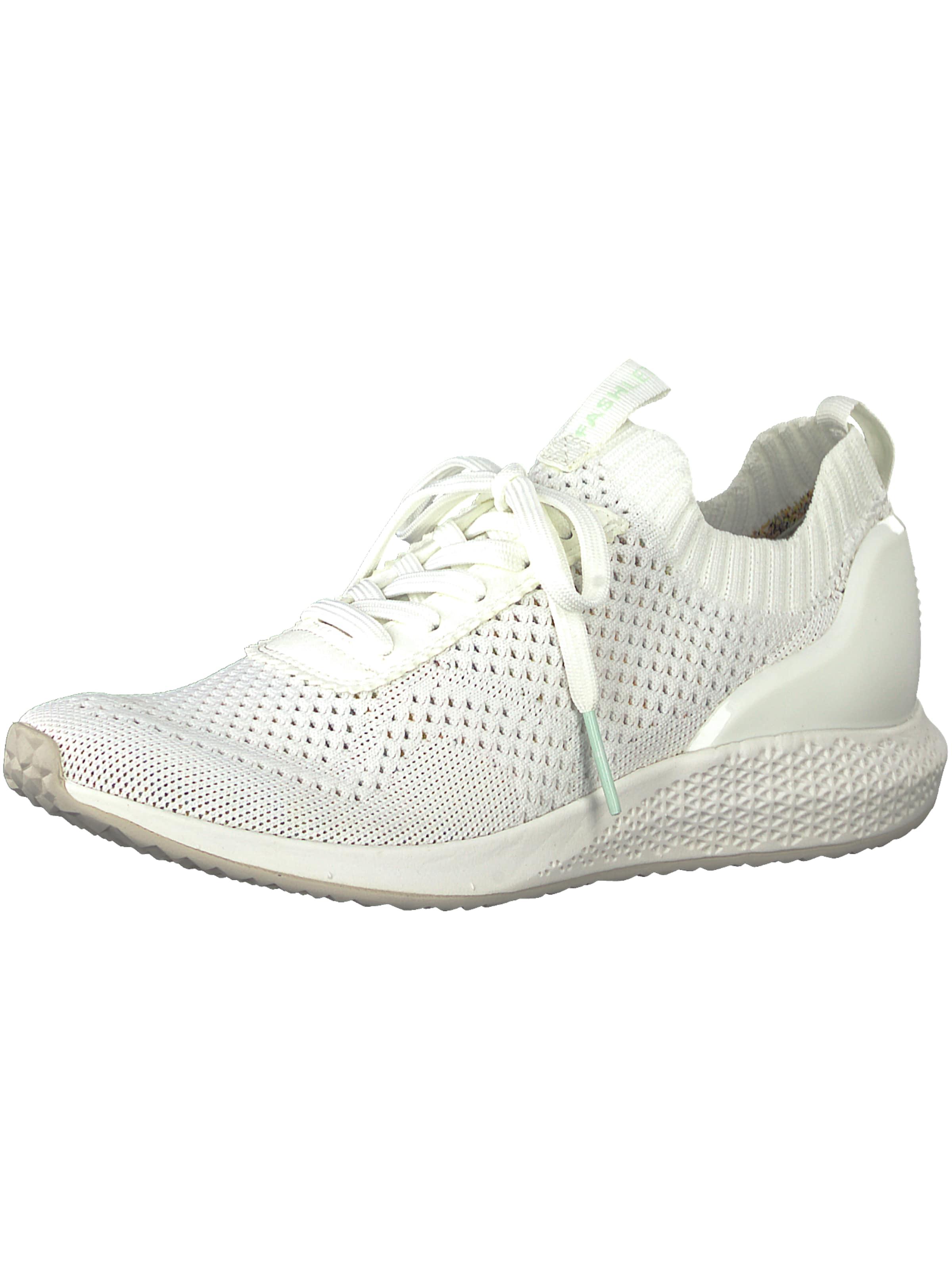 Blanc Basses 'fashletics' En Tamaris Baskets H2Y9WEDI