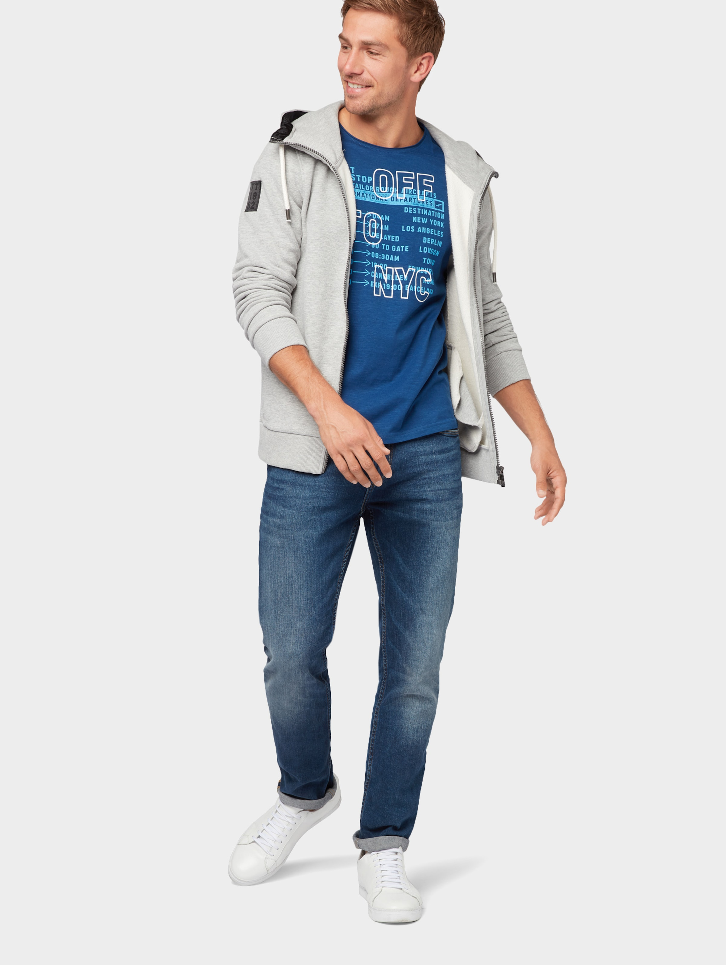 T Weiß Tailor shirt BlauHellblau Tom In qUSMVpzjGL