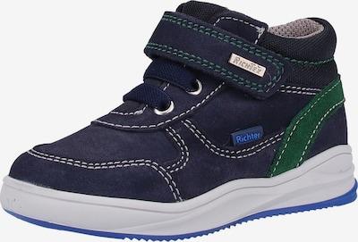 RICHTER Sneaker in himmelblau / graphit / grün / weiß, Produktansicht