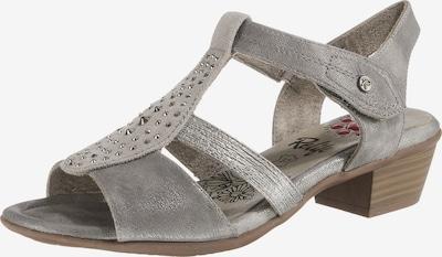 Relife Klassische Sandalette in grau, Produktansicht