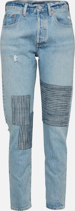 Denim En Levi's Bleu Madeamp; Jean '501®skinny' Crafted 4ARLq5j3
