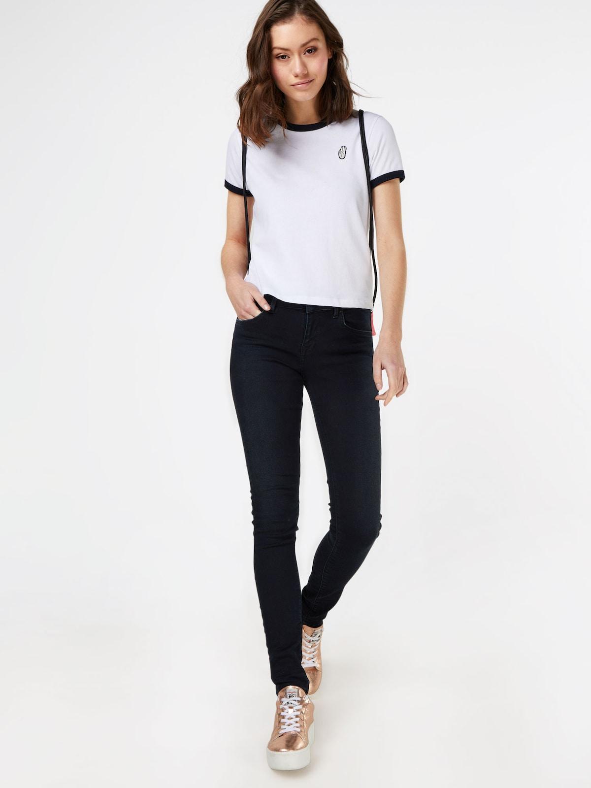 Beliebt Frauen Bekleidung LTB Jeans 'Nicole' in blue denim Zum Verkauf