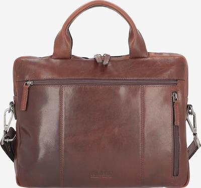 LEONHARD HEYDEN Laptoptas 'Roma' in de kleur Bruin, Productweergave