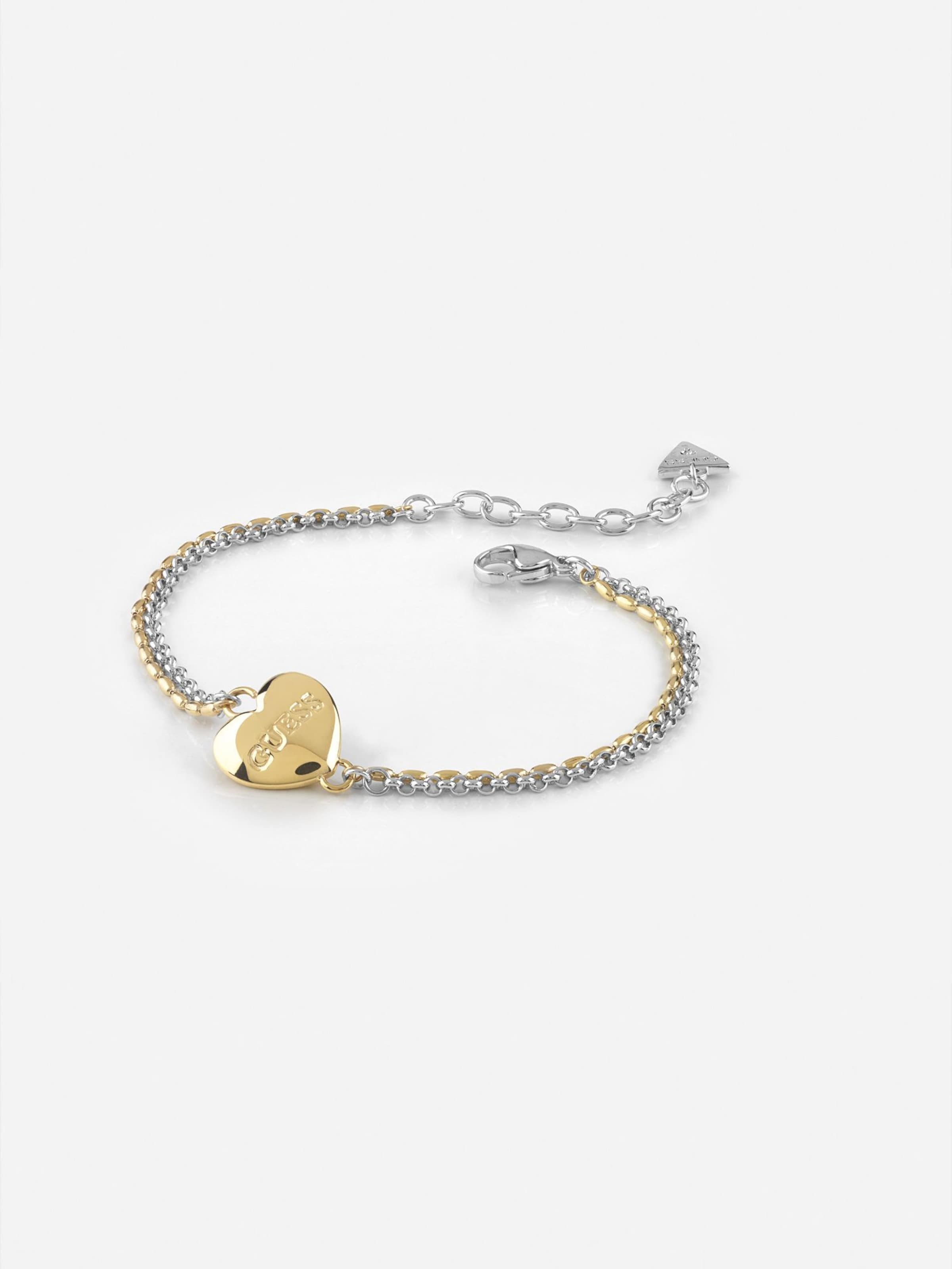 Guess 'unchain Heart' GoldSilber In Armband My CBWxroed