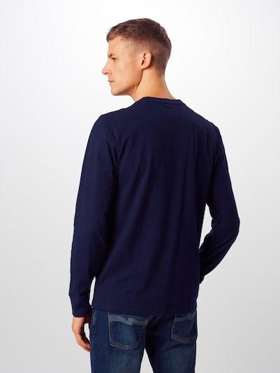 GAP Tričko 'SOLID' - námořnická modř: Pohled zezadu