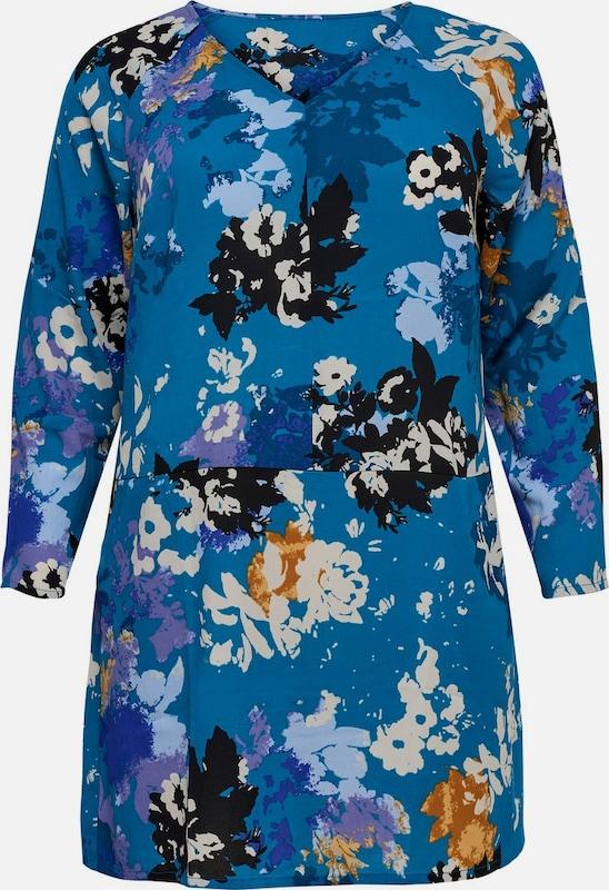 ONLY Carmakoma Kleid in dunkelblau   mischfarben  Neuer Aktionsrabatt