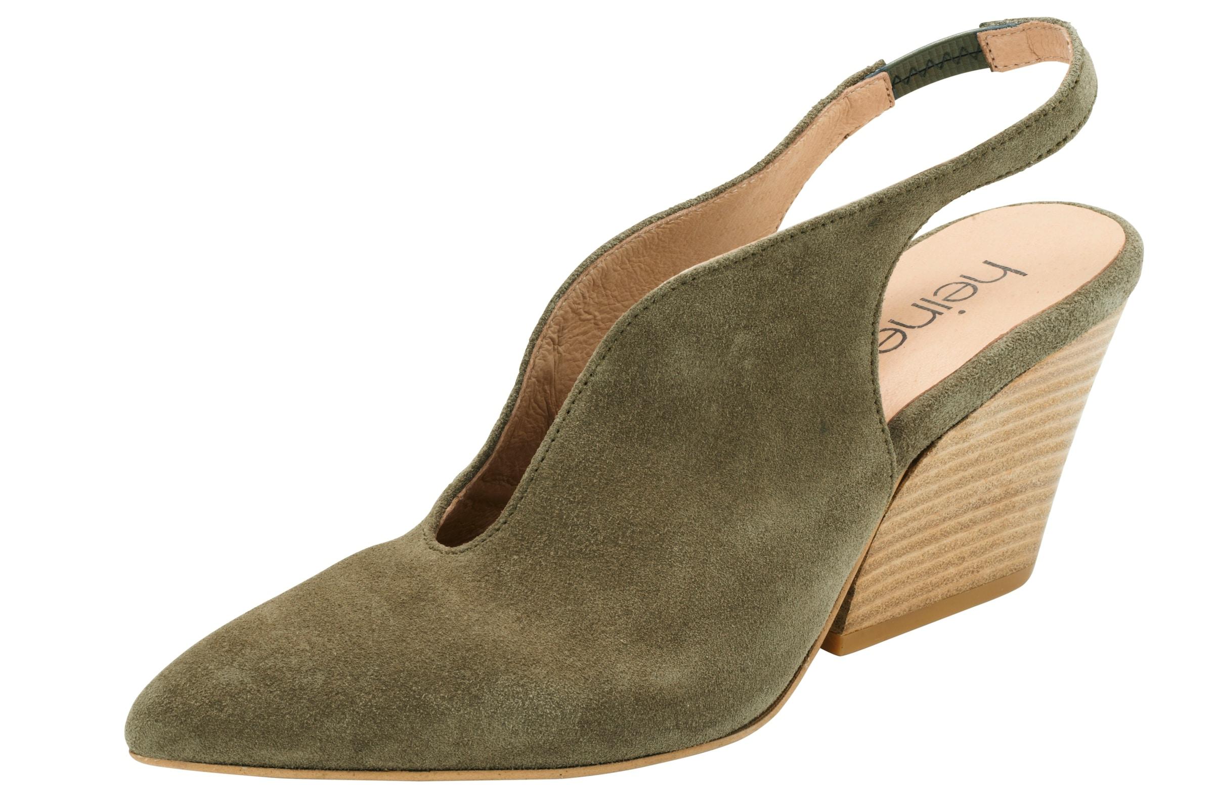 Haltbare Mode billige Schuhe heine | Slingpumps Schuhe Gut getragene Schuhe