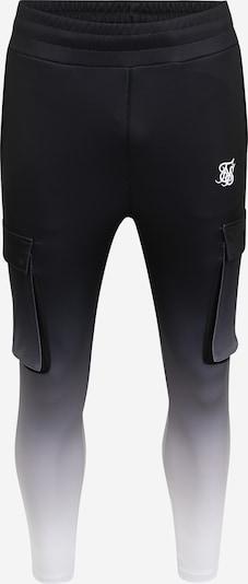 SikSilk Hosen in schwarz / weiß, Produktansicht