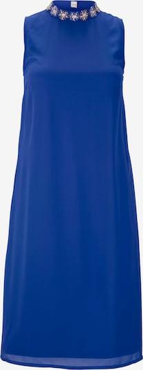 """Kokteilinė suknelė iš heine , spalva - sodri mėlyna (""""karališka""""): Vaizdas iš priekio"""