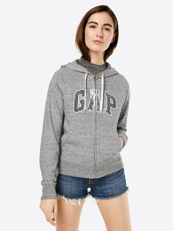 GAP Sweatshirtjacke 'FOIL HD'