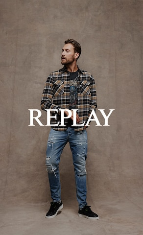 Category Teaser_BAS_2021_CW40_M_Replay_Jeans + co. & Jeanshemden