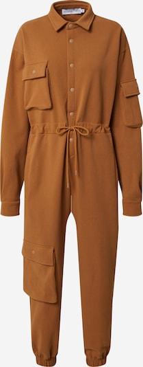 NU-IN Jumpsuit 'Oversized' in de kleur Bruin, Productweergave